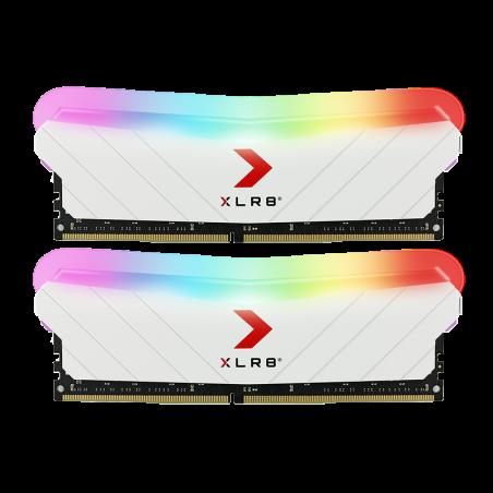 PNY XLR8 Gaming EPIC-X RGB - (2x8GB) - 3200Mhz - White