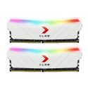 PNY XLR8 Gaming EPIC-X RGB - (2x8GB) - 3600Mhz - White
