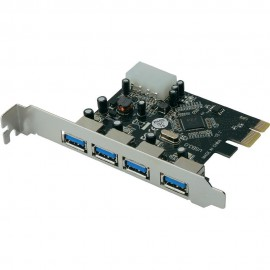 Carte USB 3.0 - Pci Express - 4 Ports