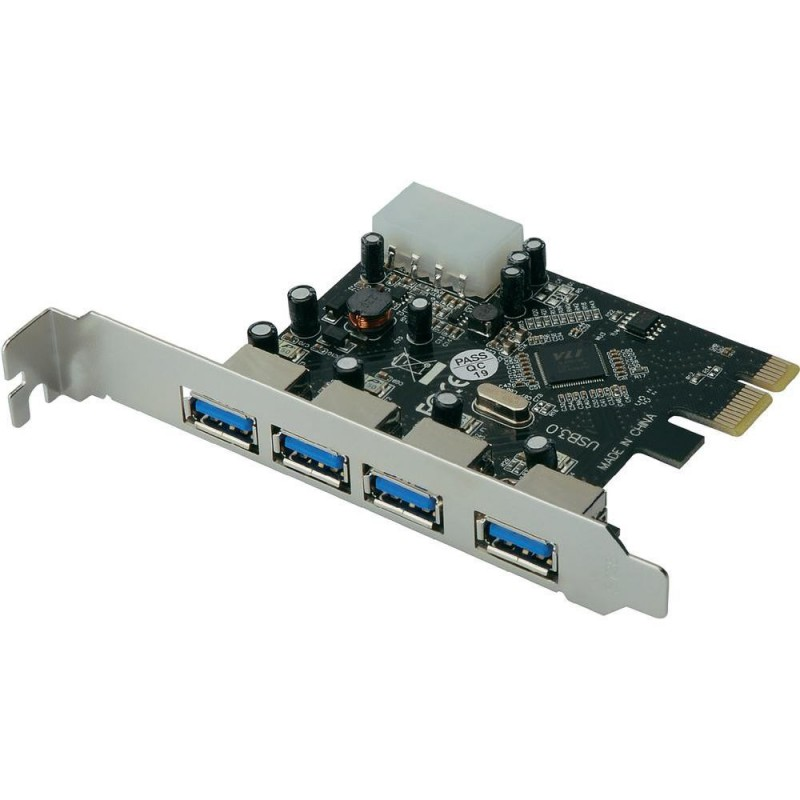 Carte USB 3.0 - Pci Express - 4 Ports