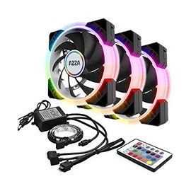 Kit 2 Ventilateurs HURRICANE RGB
