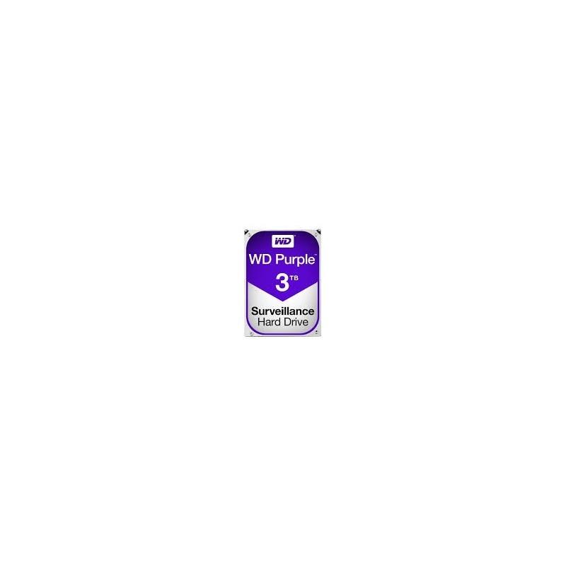 "Disque Dur Videosurveillance Sata III 3.5"" - WD Purple 3To"