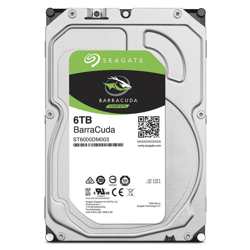 HDD SEAGATE BARRACUDA 6T