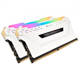 RAM 16Gb CORSAIR Vengeance RGB PRO white - 2X8 - 3000Mhz