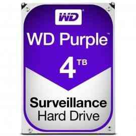 "Disque Dur Videosurveillance Sata III 3.5"" - WD Purple 4To"