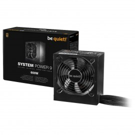 Tunisie Bequiet 600W System Power 9 - Bronze