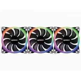 Kit 3 Ventilateurs RGB + Télécommande