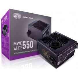 Coolermaster MWE 550 80 Plus WHITE