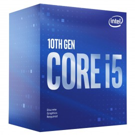 Tunisie Intel Core i5-10400F (2.9 GHz / 4.3 GHz)
