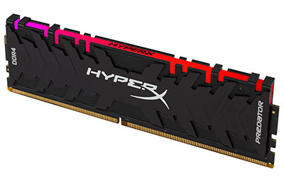 Tunisie HyperX Predator RGB 16Go - 3200Mhz