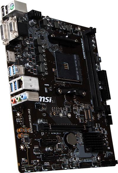 AMD Ryzen MSI B450M PRO-M2