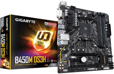 Tunisie Gigabyte B450M-DS3H