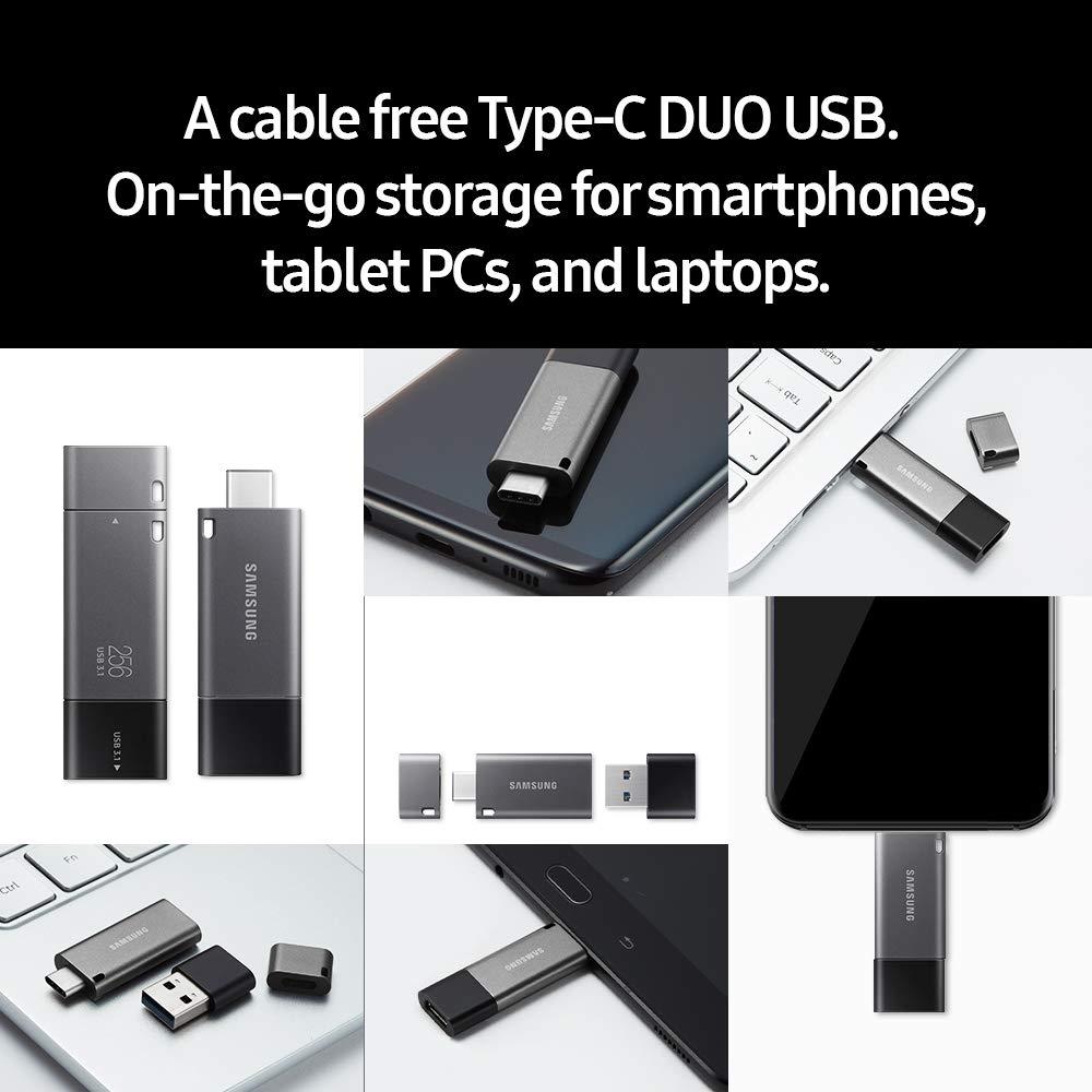 Tunisie Samsung DUO Plus 64GB - 200MB/s USB 3.1 Flash Drive