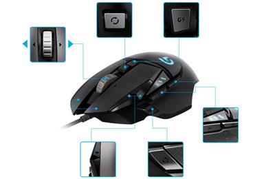 Tunisie mouse gamer Logitech G502 Proteus Spectrum RGB