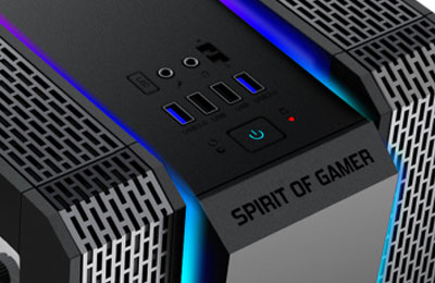 Tunisie Spirit of Gamer Clone 2 - RGB